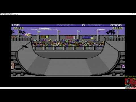 Skate or Die: Freestyle/Ramp COMMODORE 64 - 21,948