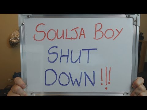 SOULJA BOY Website SHUT DOWN!! Mp3