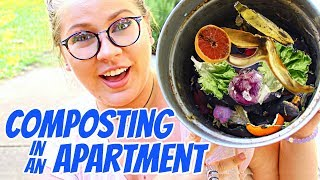 Composting in an Apartment - Tools, Tips & Alternatives
