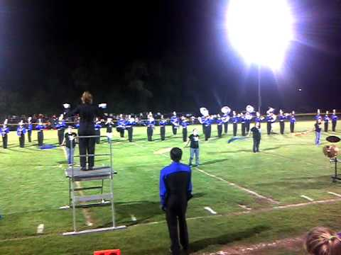 Cedarville High School Marching Band 2010