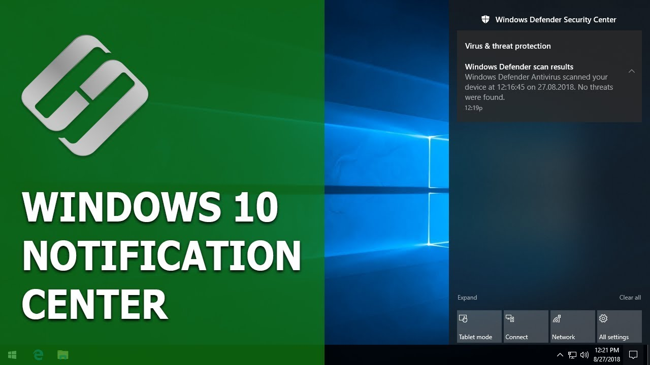 How to Enable or Disable Notifications in Windows 10 Action Center 💻💬👨‍💻
