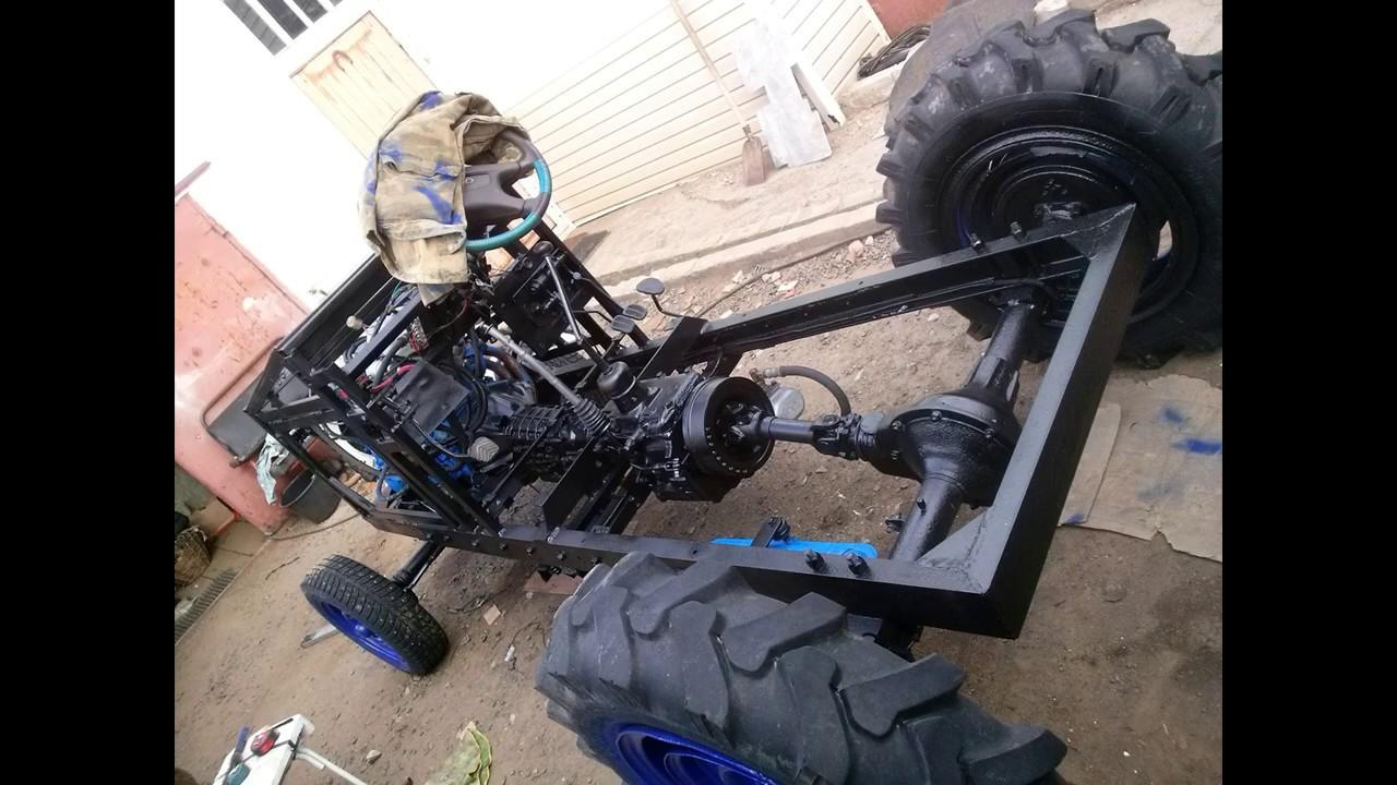 Отличный Самодельный трактор