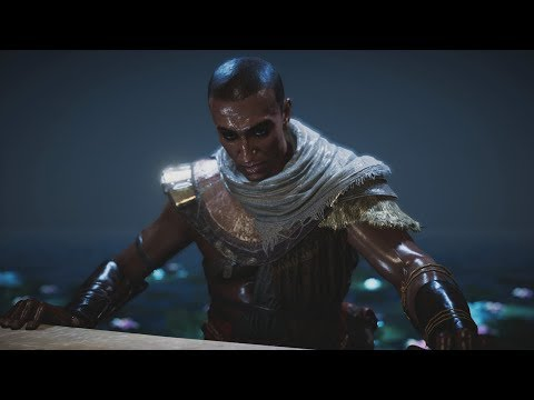 Assassin's Creed Origins - The Lizard's Mask Quest / Snake Boss Fight