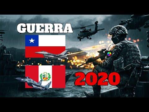 Peru Vs Chile Guerra 2020 Simulacion Youtube