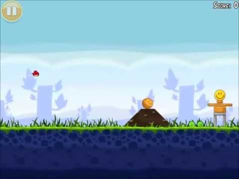 Official Angry Birds Walkthrough Poached Eggs 1-3 - YouTube
