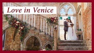 Свадьба в Венеции . Милена и Сергей / свадебный клип / видеограф / Love story / идеи для свадьбы 😍