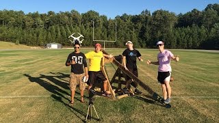Catapult Trick Shots: Behind the Scenes & Commentary