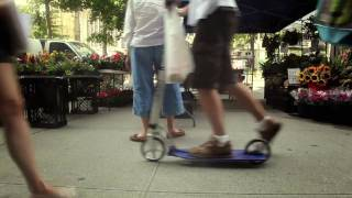 Kick scooter in NYC, Xootr adult kick scooters