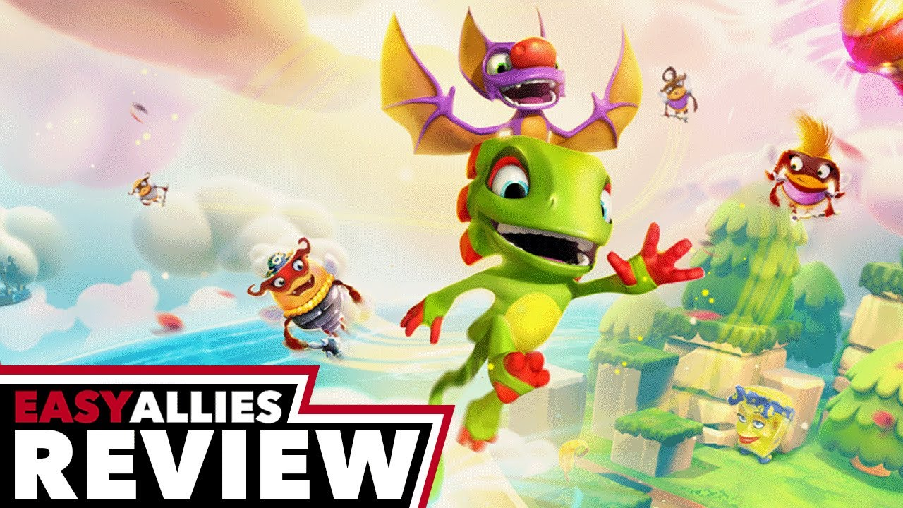 Yooka-Laylee and the Impossible Lair - Easy Allies Review (Video Game Video Review)