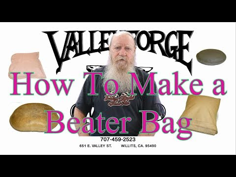 How To Make a Beater Bag
