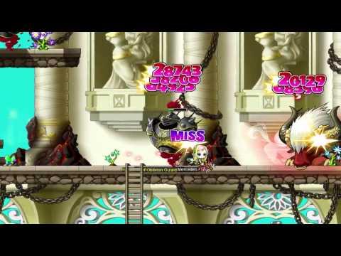MapleStory : Legends - Mercedes Blazes Into Battle [HD]