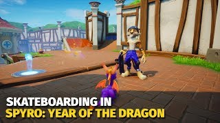 Skateboarding in Spyro: Year of the Dragon | Reignited Trilogy