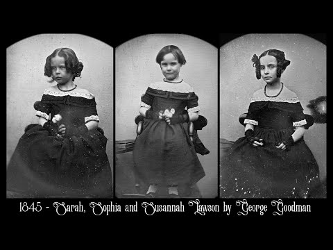 Early Traces of Reality: Photographs of People in the 1840's