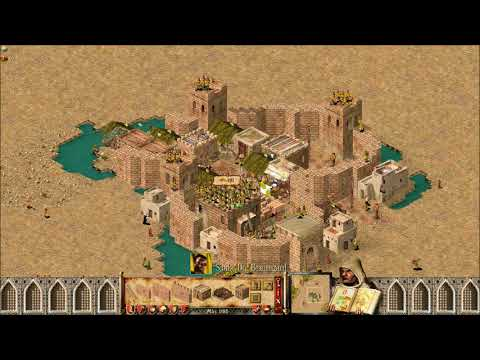 Stronghold Crusader AI Tournament S2 E11 Snake vs Emperor