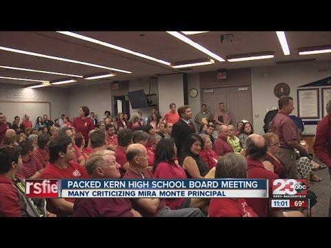 Mira Monte High School principal under fire at school board meeting