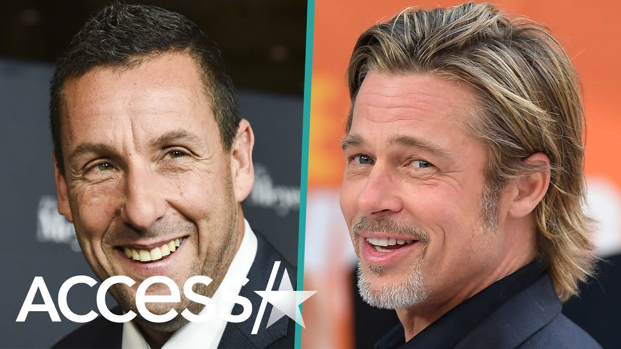 Brad Pitt And Adam Sandler Bond Over The Creative Ways They've Tried (And Failed) To Go Incognito