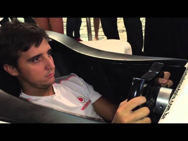 Simulador F1 max Petrobras @ Velocult 2015