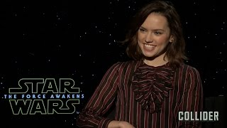 Daisy Ridley on 'Star Wars: The Force Awakens', Deleted Scenes, and Whether Han Shot First thumbnail