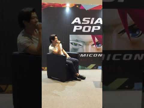 Gaku Space Fan (Genji) Q&A | AsiaPOP Comic Con Manila 2016