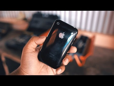 The Original Jet Black iPhone   A Look Back at the iPhone 3G