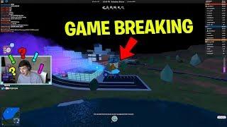 WE FOUND A LEGIT GAME BREAKING GLITCH!! (Roblox Jailbreak)