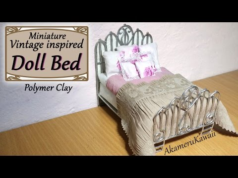 Doll Bed 18 Inch Doll Bed - Prototype (American Girl) Baby Doll Bunk Beds for American Girl Doll Bedroom Dollhouse Toys. Baby Doll House Toys And Car