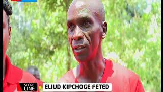 Eliud Kipchoge receives new Isuzu Dmax Pick Up valued at Ksh 4.1 million