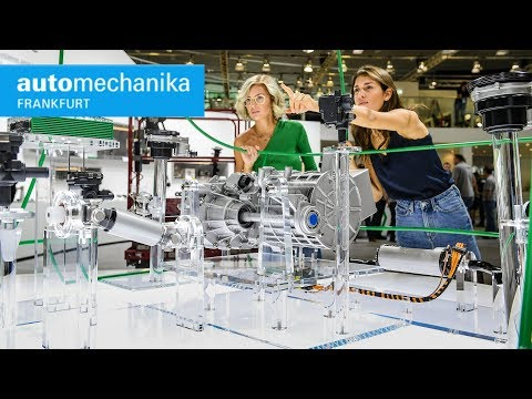 Automechanika Frankfurt 2018 - Footage from the automotive service industry trade fair