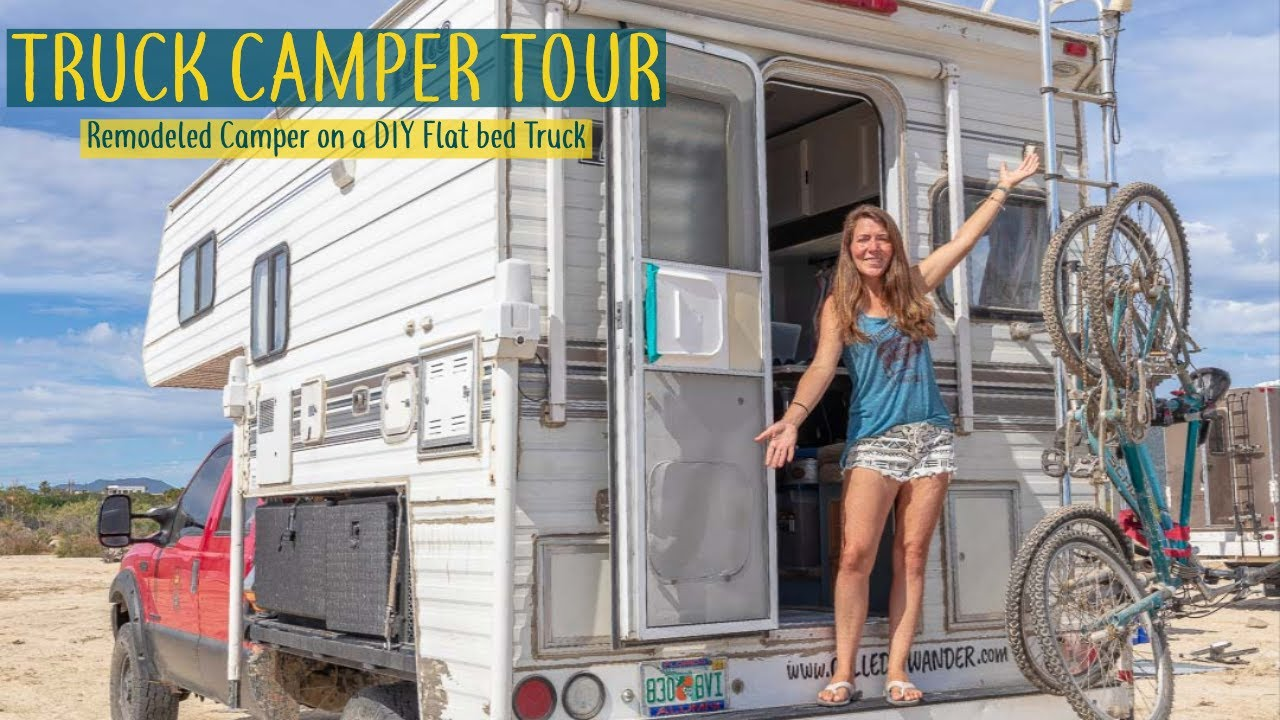 How We Built The Perfect Flatbed Truck Camper And How You Can Too