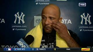 CC Sabathia on career win number 251