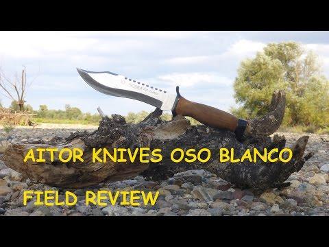 Strange Wonderful Aitor Oso Negro Combat Survival Knife