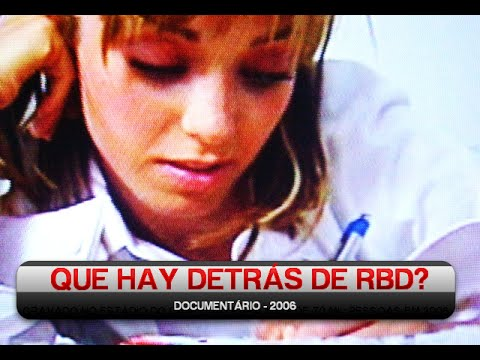 DVD Que Hay Detrás de RBD? - Documentário completo
