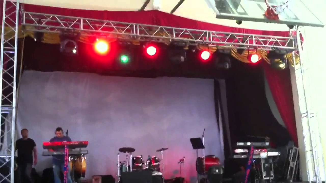 custom made stage lighting truss youtube. Black Bedroom Furniture Sets. Home Design Ideas