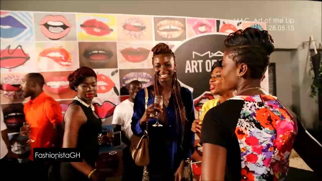 MAC Cosmetics Launch in Ghana _ #fghTV