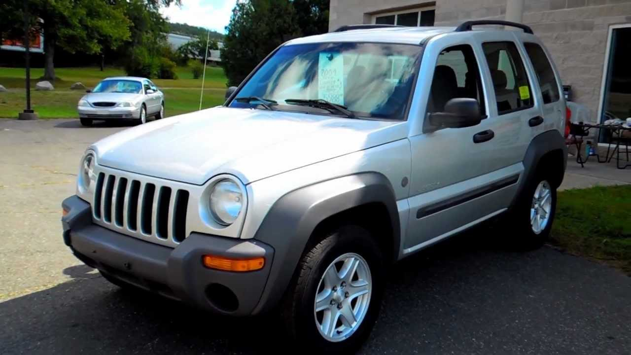 2004 jeep liberty sport 4wd 4dr suv 3.7l v6 at - youtube
