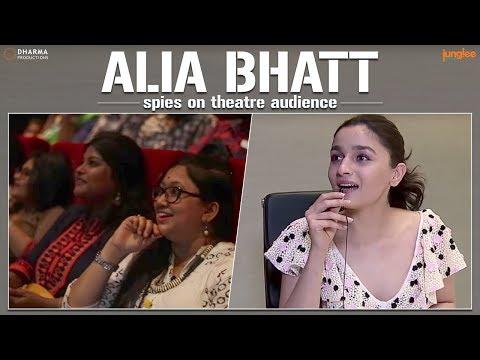 Alia Bhatt spies on theatre audiences | Raazi | 11 May 2018 thumbnail