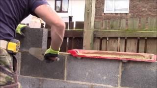 How i built my breeze block shed part 2
