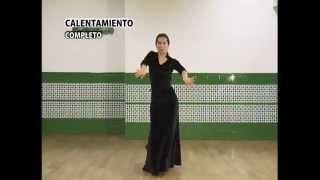 "How to dance ""Siguiriyas"" - Metodo de Baile Flamenco - from DVD メルセデス・ルイス「シギリージャス」教則"