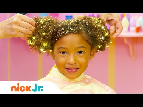 how-to-create-a-hair-buns-w/-sparkles-tutorial-✨|-sunny-day's-style-files-|-nick-jr.