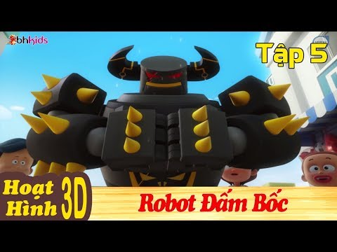 Phim Hoạt Hình Hay Nhất 2018 - ROBOT ĐẤM BỐC - Binh Đoàn Người Máy T-Buster - Phim Hoạt Hình 3D