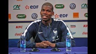 Équipe de France, la conférence de presse de Coman et Pogba en replay I FFF 2019