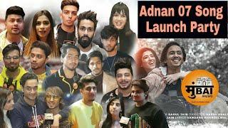 Adnaan Team 07 Song Launch Party Mr Faisu 07 Celebration