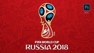 ЧМ по футболу 2018 / логотип и фирменный стиль