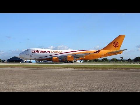 Hangar Spotting III: Cargo Ops at Piarco, Trinidad (FedEx, DHL, Amerijet, Centurion etc...)