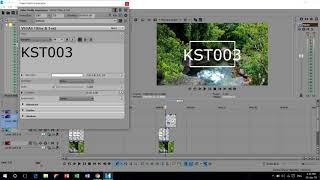 How to Draw a square,Rectangle in Sony vegas