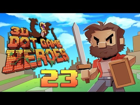3D Dot Game Heroes | Let's Play Ep. 23: Of Knights and Men | Super Beard Bros.