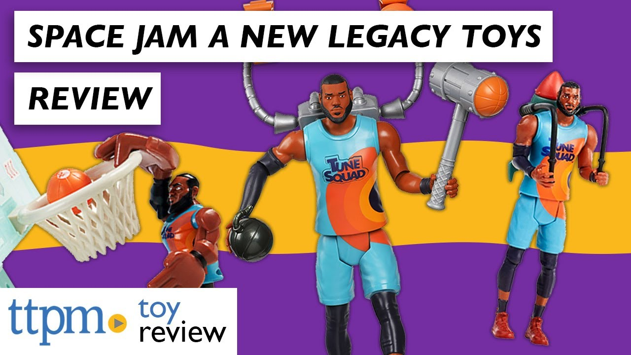 SPACE JAM 2: A New Legacy TOYS Ft. LeBron James from Moose Toys   Action  Figure Toy Reviews - YouTube