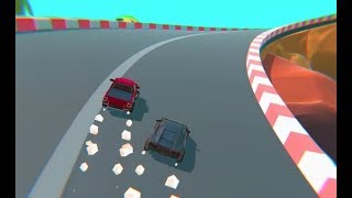Cartoon Mini Racing Game Level 4-6 | Car Racing Games