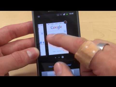Samsung Galaxy S Plus - Internet - Teil 3