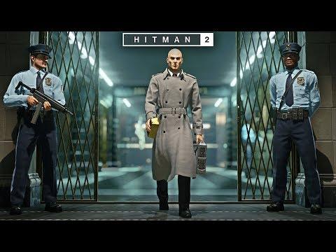 HITMAN™ 2   Master Difficulty - Break The Bank Vault New York  